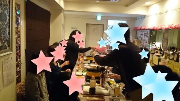 鍋パーティー1