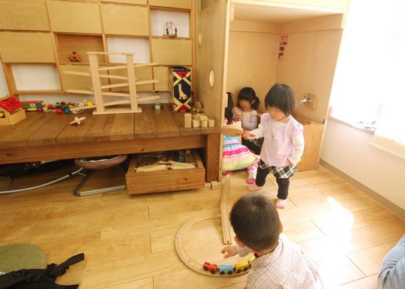 子どもが遊べるスペース
