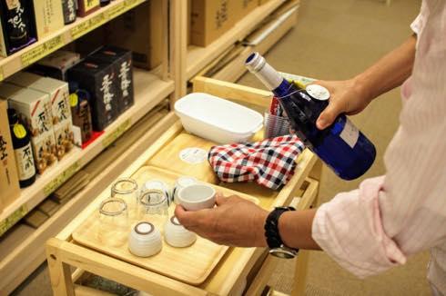 200円で焼酎試飲し放題!初心者にもおすすめな「焼酎いっぱい石渡商店」